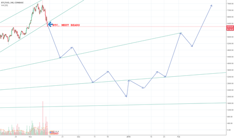 BTCUSD: BTCUSD MEET BEARS (SHORT)