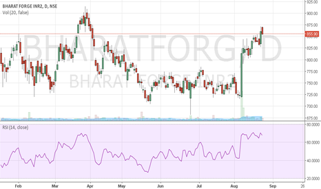 BHARATFORG: very good stock