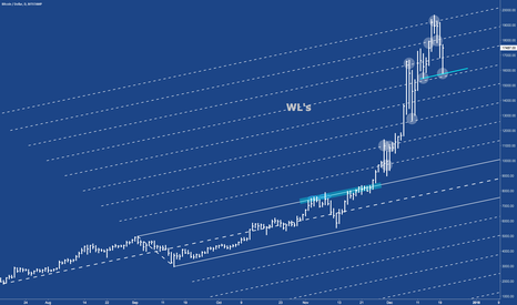 BTCUSD: BTC - Watch how it reacts at the Warning-Lines