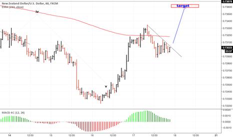 NZDUSD: risky trade