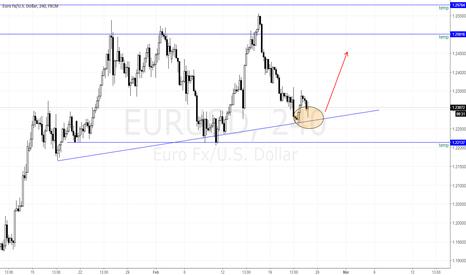 EURUSD: EURUSD Double Bottom