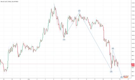 BCHUSD: BTC Cash spadnie niżej jeszcze
