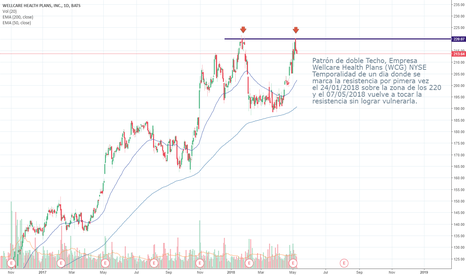 WCG: Equity Double Top Pattern