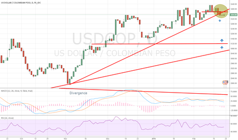 USDCOP: Short USDCOP, a new trend has begun