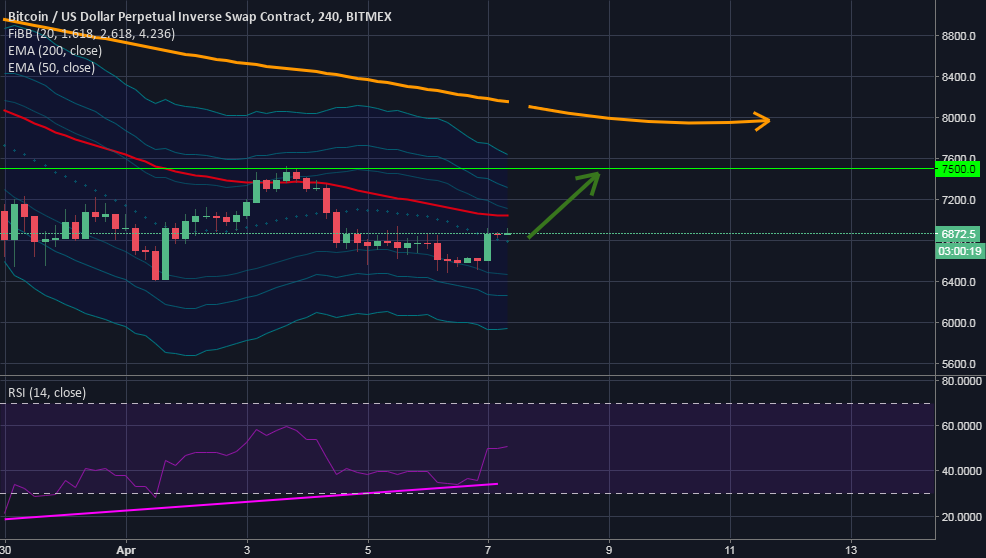 XBTUSD BTCUSD Bitmex RSI BULLISH DIVERGENCE ON DAILY & 4 HOUR