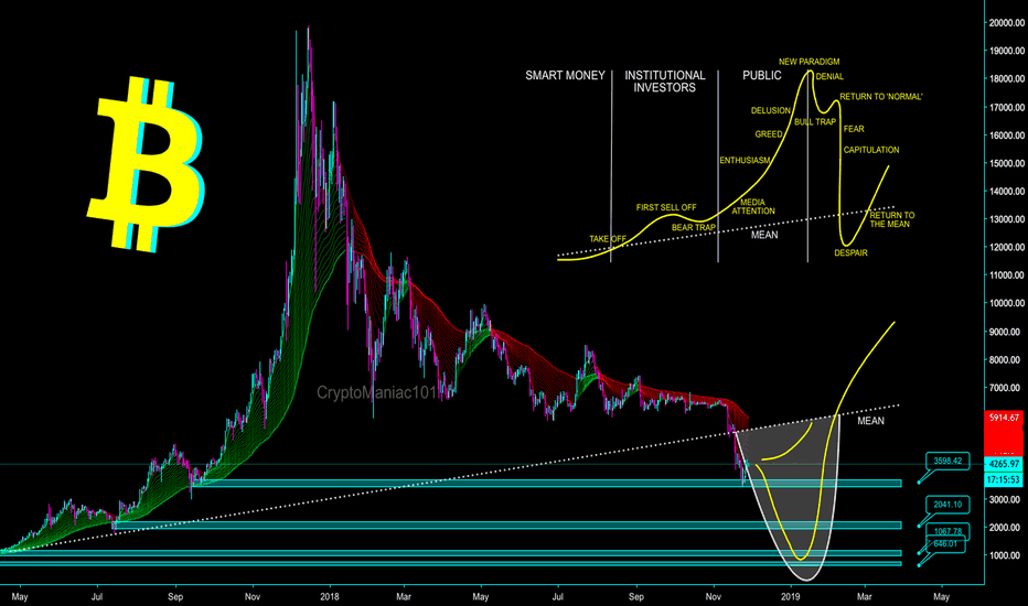 BTCUSD: IF WE LOOKED AT BTC AS JUST 'ANOTHER' ALT COIN - CryptoManiac101