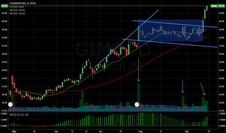 GIMO: Bull Flag on Gigamon