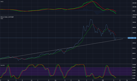 BTCUSD: Bitcoin bounced right off my support line