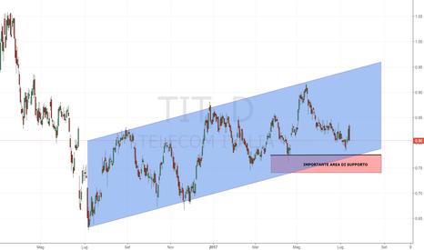 TIT: Telecom Italia: area fondamentale di supporto a 0.78