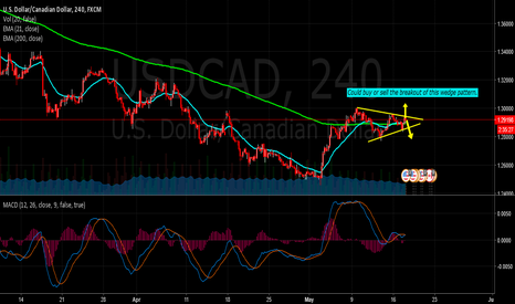 USDCAD: USD/CAD has a decision to make!