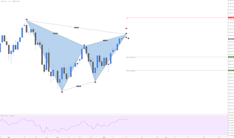 NSXUSD: NAS100 Bearish Gartley