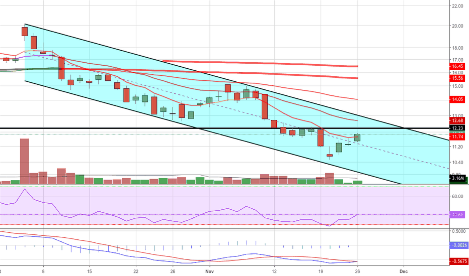 CLDR: CLDR Downtrend Channel