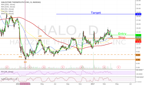 HALO Stock Price and Chart — TradingView
