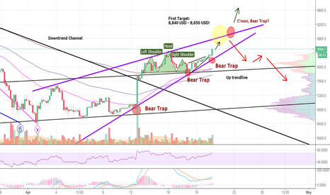BTCUSD: Insecure BITCOIN-Bulls Finally Took The First Step- Awkwardness!