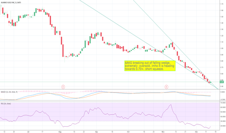 AKG: AKG Breaking out. can see rally from here on