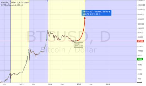 BTCUSD: Bitcoin long time predictiion.