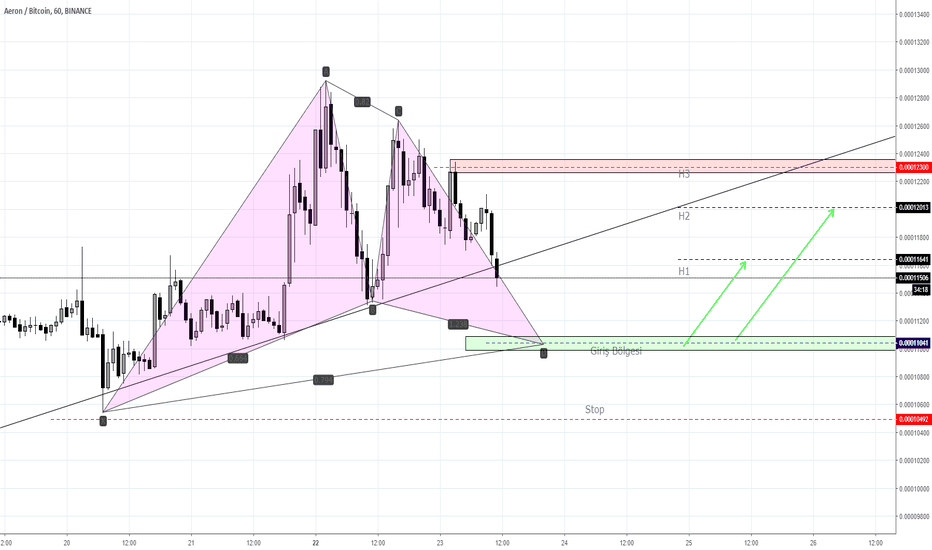 ARNBTC: ARNBTC-Bullish Gartley Pattern-Long-Alış-1Hr
