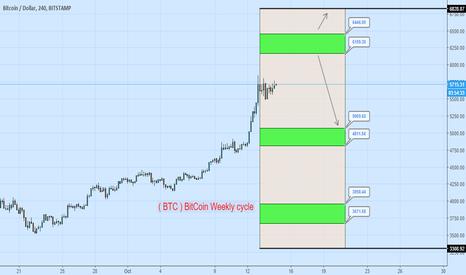 BTCUSD: Bitcoin Weekly Cycle