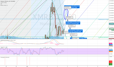 XMRBTC: XMR end of bull run, consolidation needs some retract
