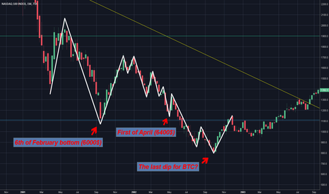 NDX: Bitcoin will repeat the history !!! (? ? ?)