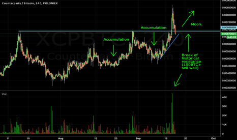 XCPBTC: XCP acquisition complete, likely headed much higher