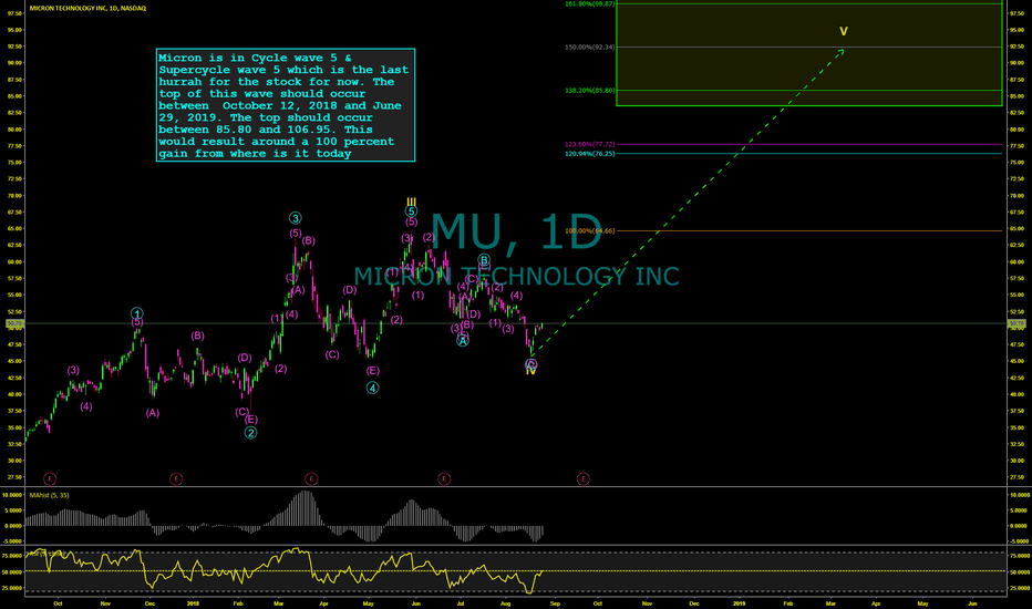 MU: Micron Technology (MU) Sets Up For 90-100% Gain Over Next Year