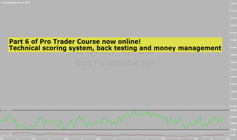 EURJPY: Pro trader course part 6 now online.