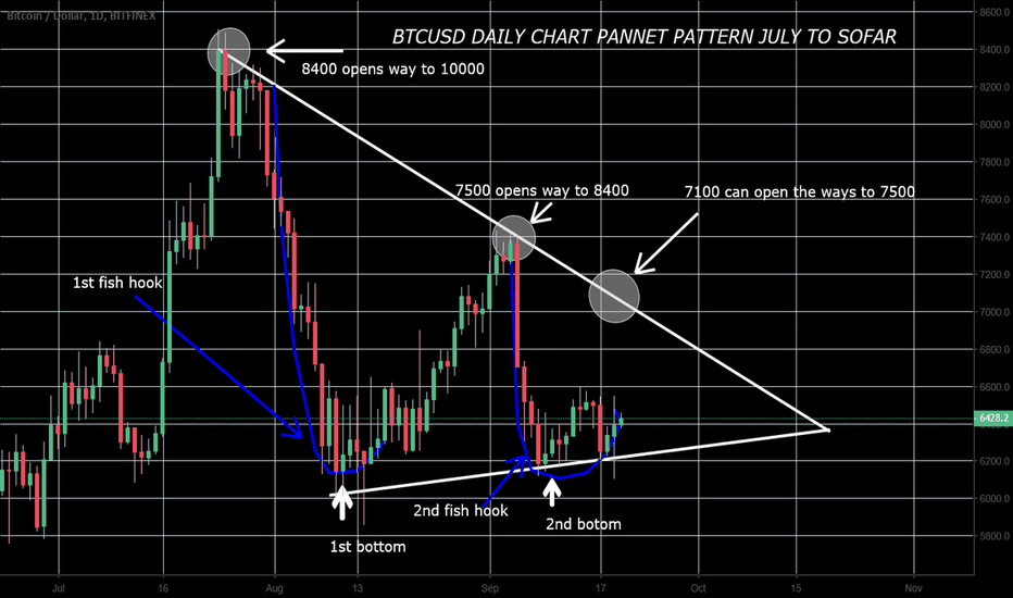 BTCUSD: BTCUSD daily chart July to sep 18 in Pannent