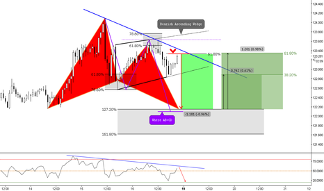 EURJPY: (1h) Will the 618 react and put pressure on?