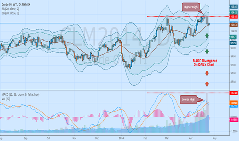 CLM2014: WTI Crude Oil - SHORT