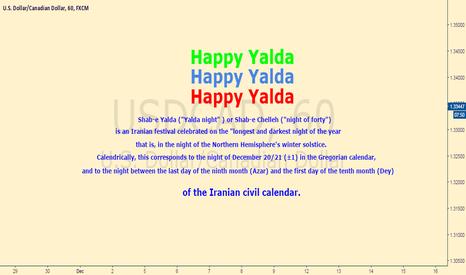 USDCAD: HAPPY YALDA
