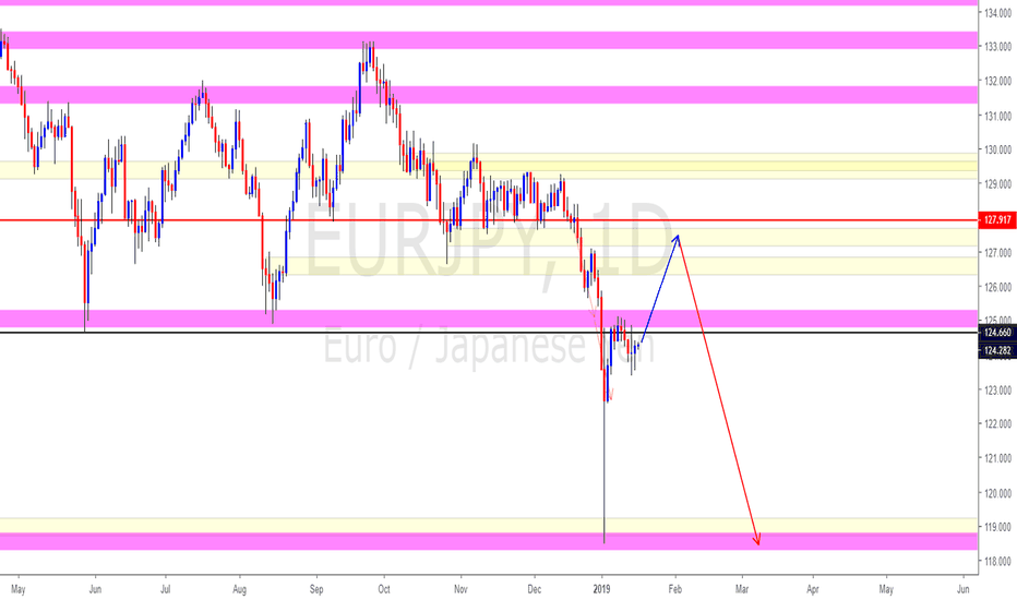 EURJPY: EURJPY (It is trying to find its footing)