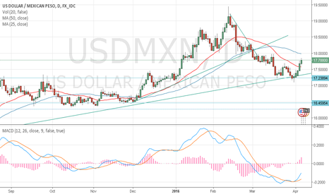 USDMXN: USD/MXN STILL LONG