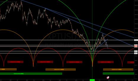 XPTUSD: Platino - Siamo al punto di svolta per capirne la tendenza.