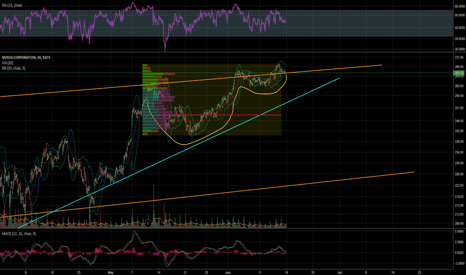 NVDA: Cup and handle on the 30M