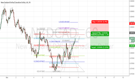 NZDCAD: gartley bear