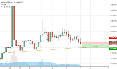 XMRBTC: XMRBTC is going DOWN