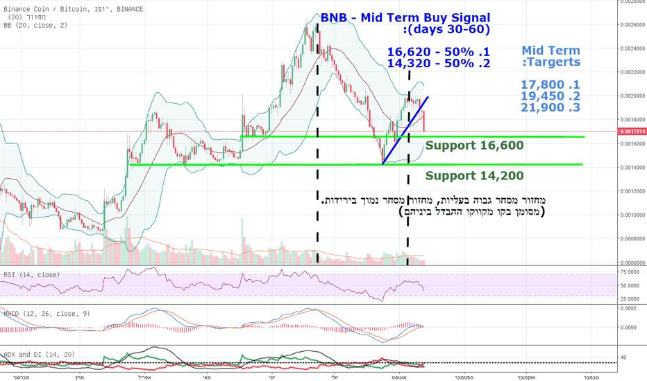 BNBBTC: ביננס קוין (BNB) - עסקה פוטנציאלית