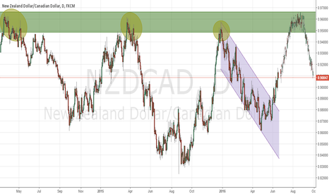 NZDCAD: Daily Triple Top