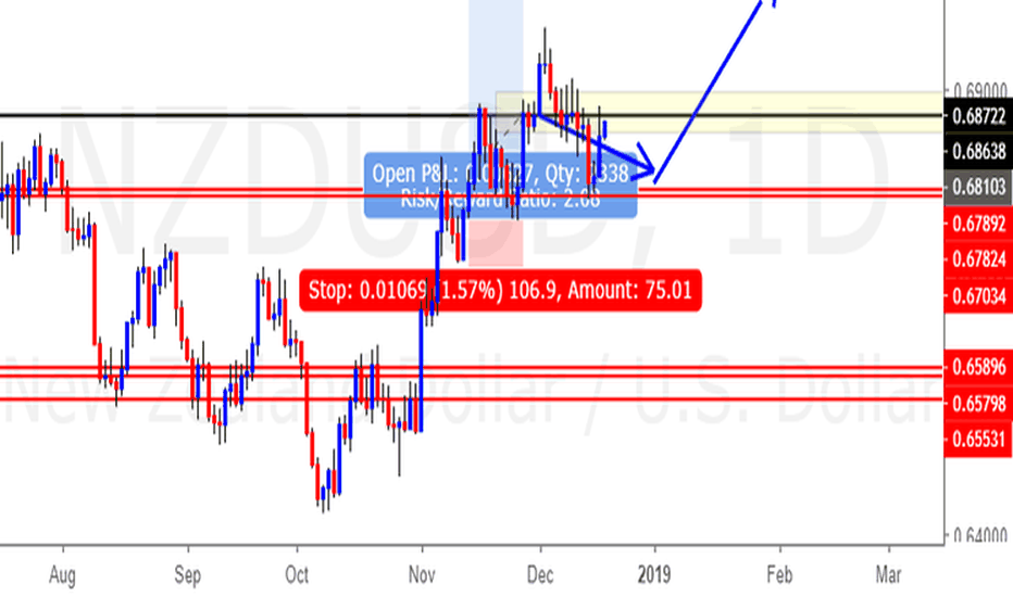 NZDUSD: NZD/USD (19 Dec 2018) (Stay with the LONG side)