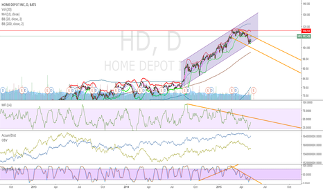 HD: Home Depot at flaglike decission point - Will we tumble or jump?