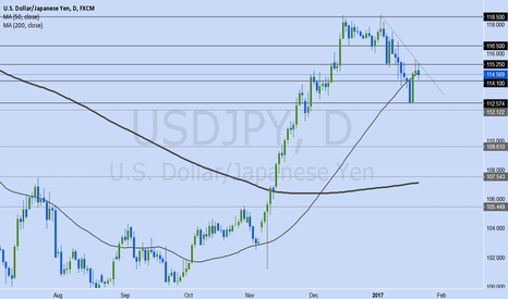 USDJPY: My USDJPY Jan 23-27 Trading Plan