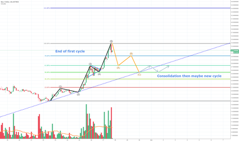 NEOUSDT: NEO, End of first cycle