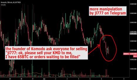 KMDBTC: Komodo manipulation again