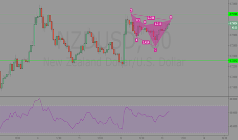 NZDUSD: NZDUSD downside imminent? 1hr Analysis