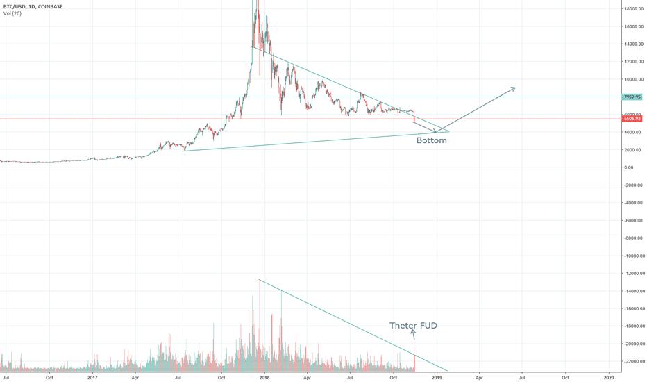 BTCUSD: Patience, the bottom is near (BTC/USD)