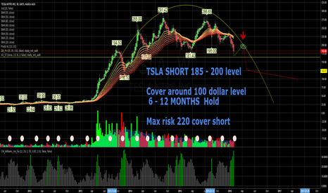 TSLA: Short TSLA   - Trend has reversed with sentiment