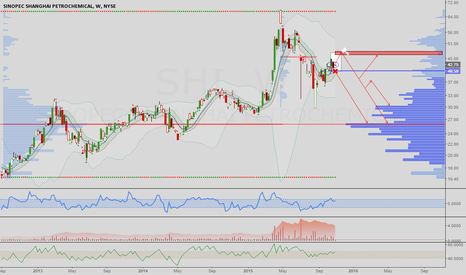 SHI: Sinopec: Bearish signals on chart