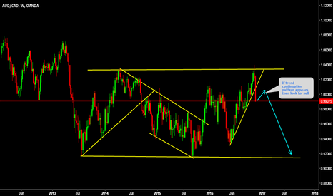 AUDCAD: AUDCAD Finally this pair on its way