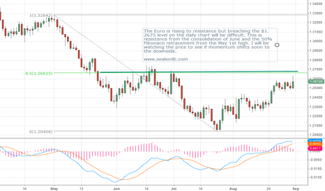 EURUSD: The Euro is rising to resistance